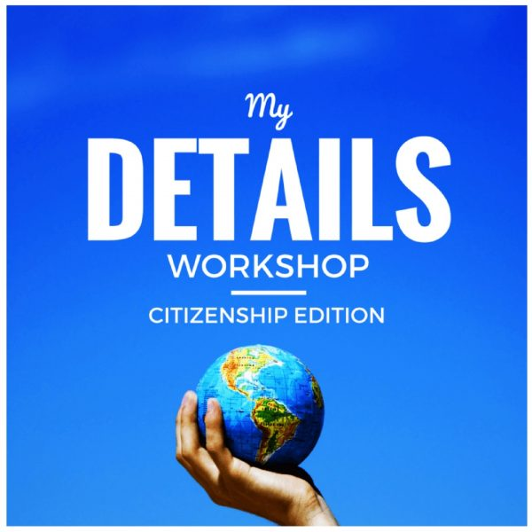 My Details Citizenship Edition