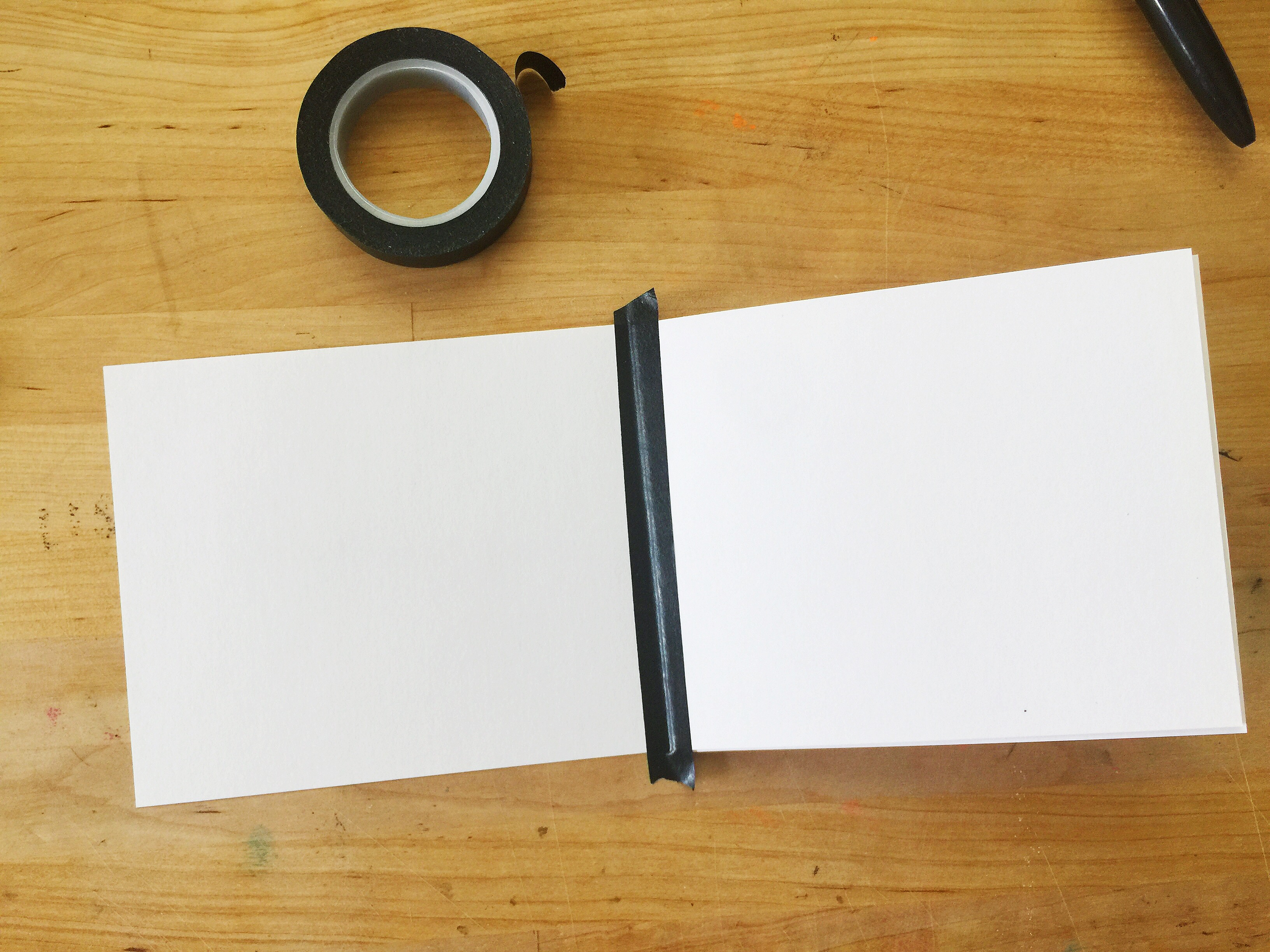 diy scrapbook single sheet of paper