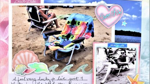 Beach Life Outdoors Layout by Nicole