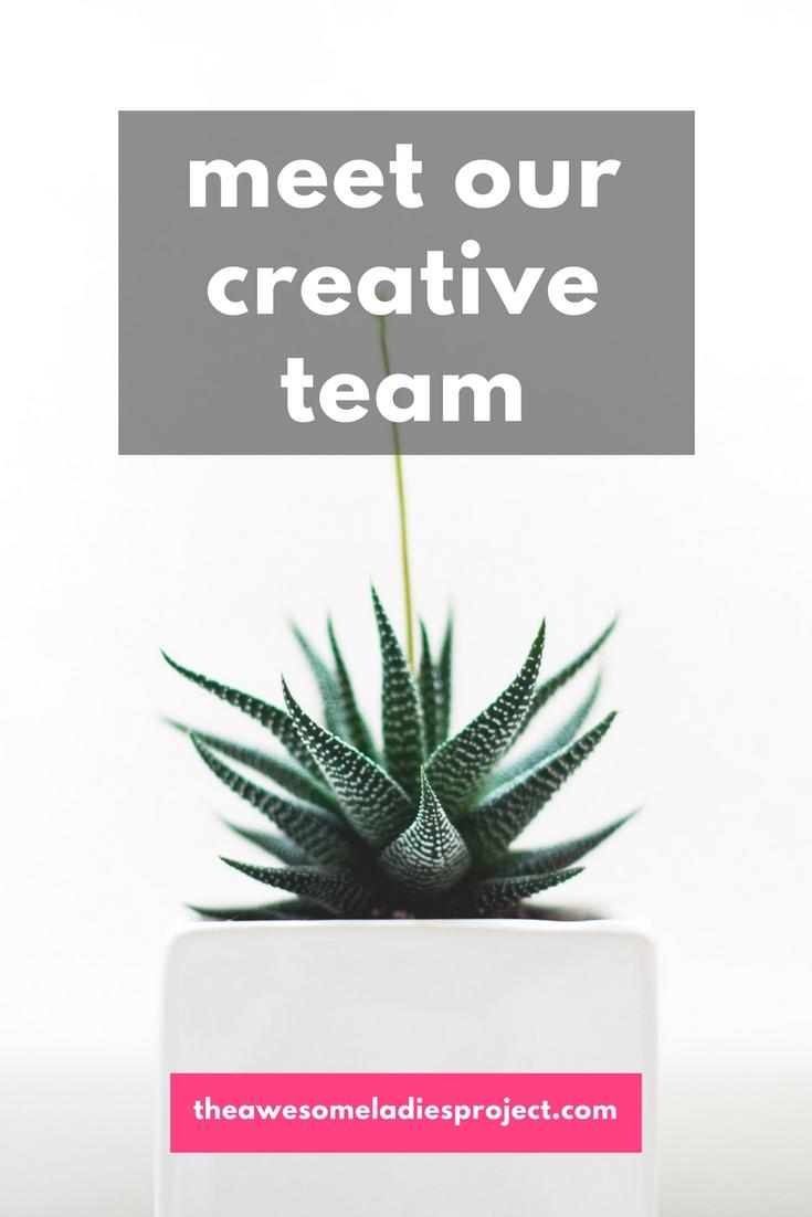 meet our creative team